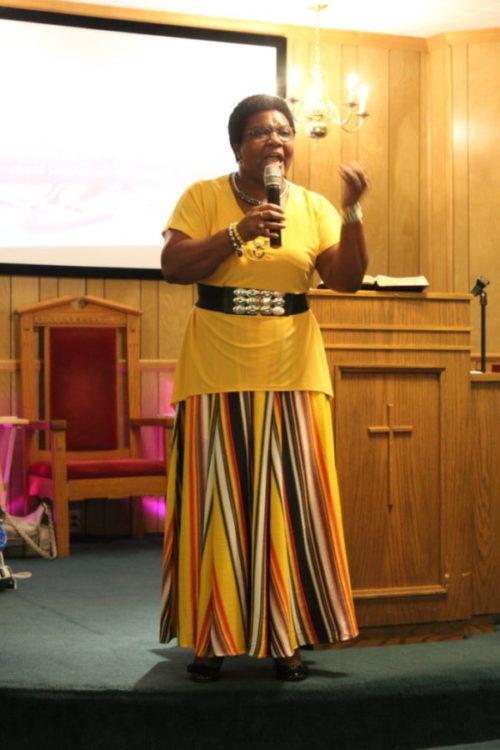 Pastor Stephanie
